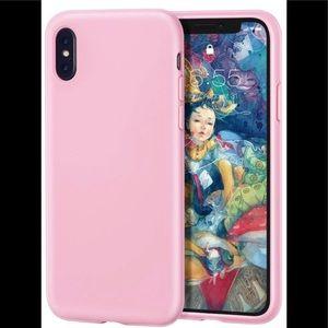 iPhone Xs MAX Case Liquid Silicone Gel